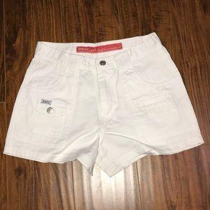 Brand new Revolt white shorts